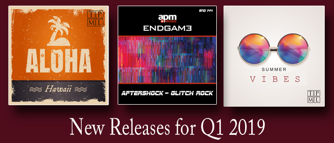 Q1 New Releases 2019